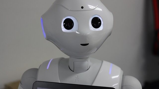 pepper、ロボット